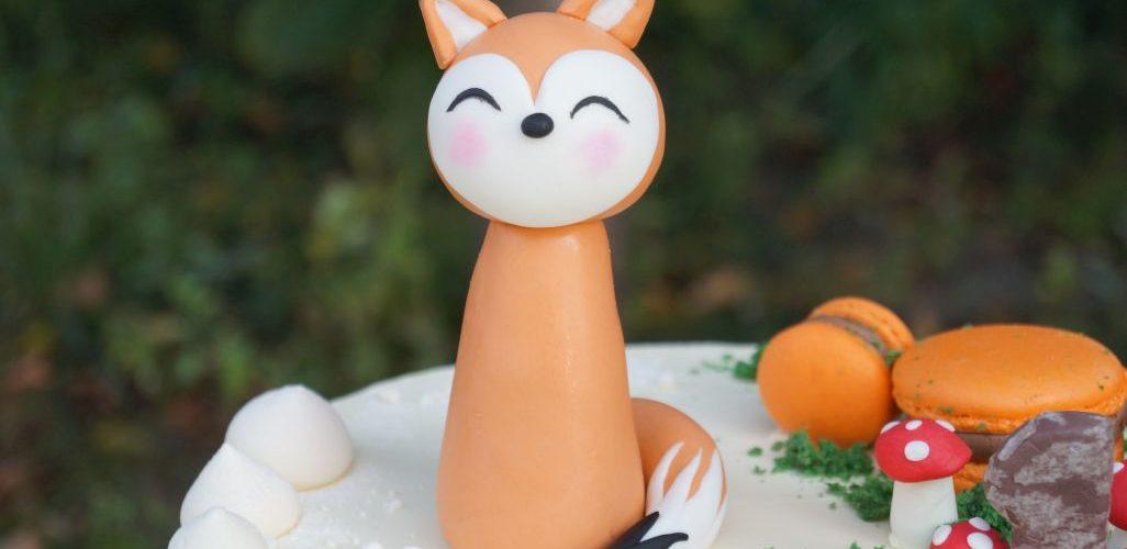 Figurka tort na zamówienie lisek