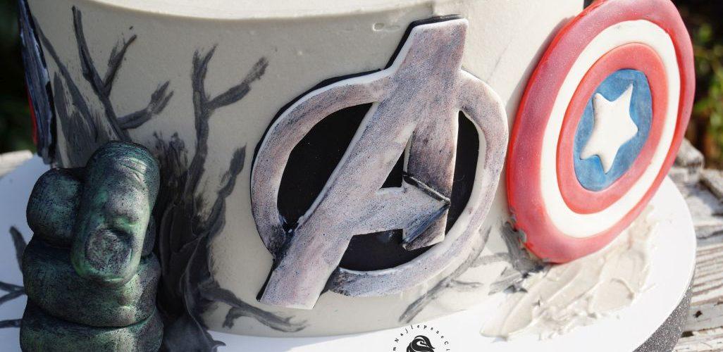 Torty na zamówienie - Avengers