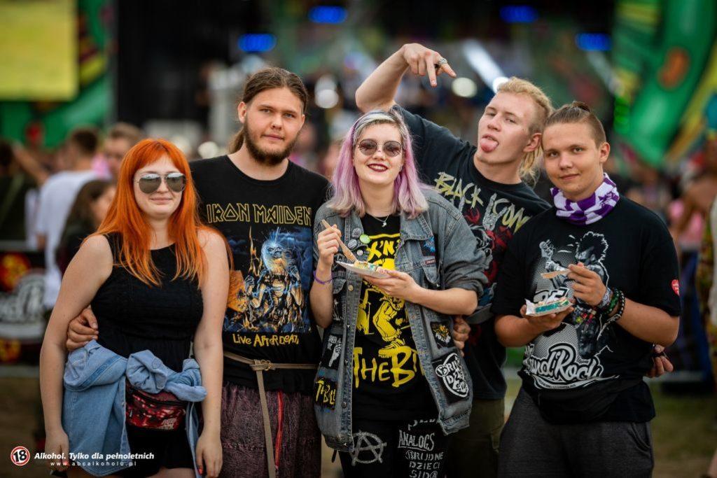 Pol'and'Rock 2019 - festwalowicze z ciachem
