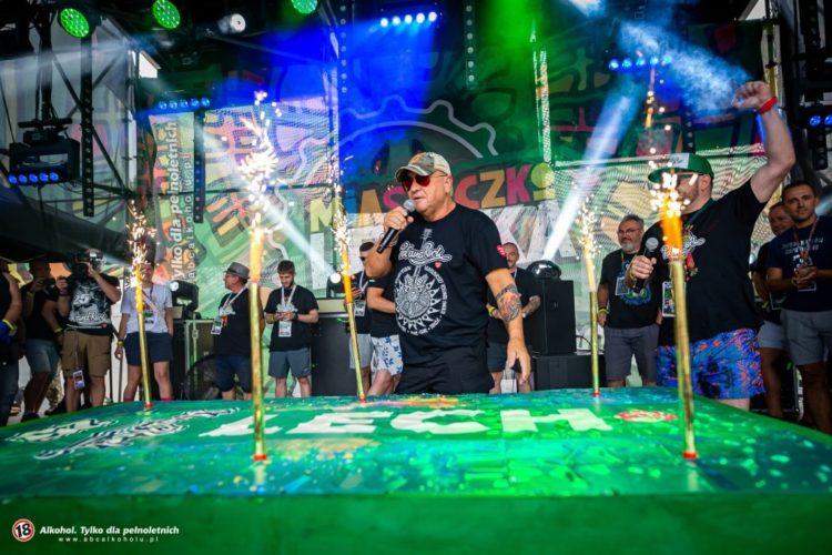 pol'and'rock festival otwarcie sceny Lecha
