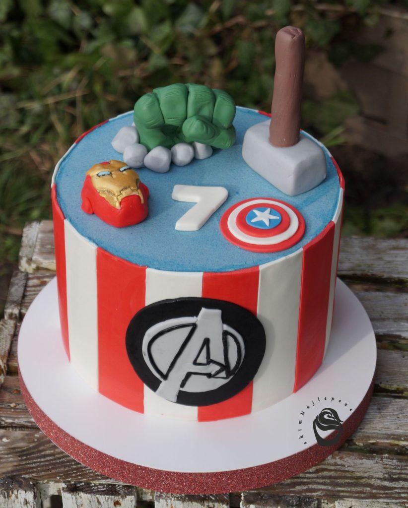 Tort Marvel tort Avengers zamówienie Gorzów