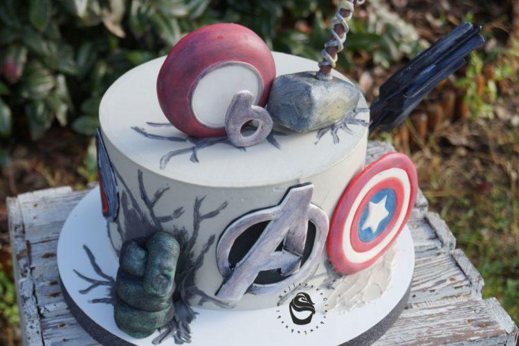 Tort Marwel Avengers na zamówienie gorzów