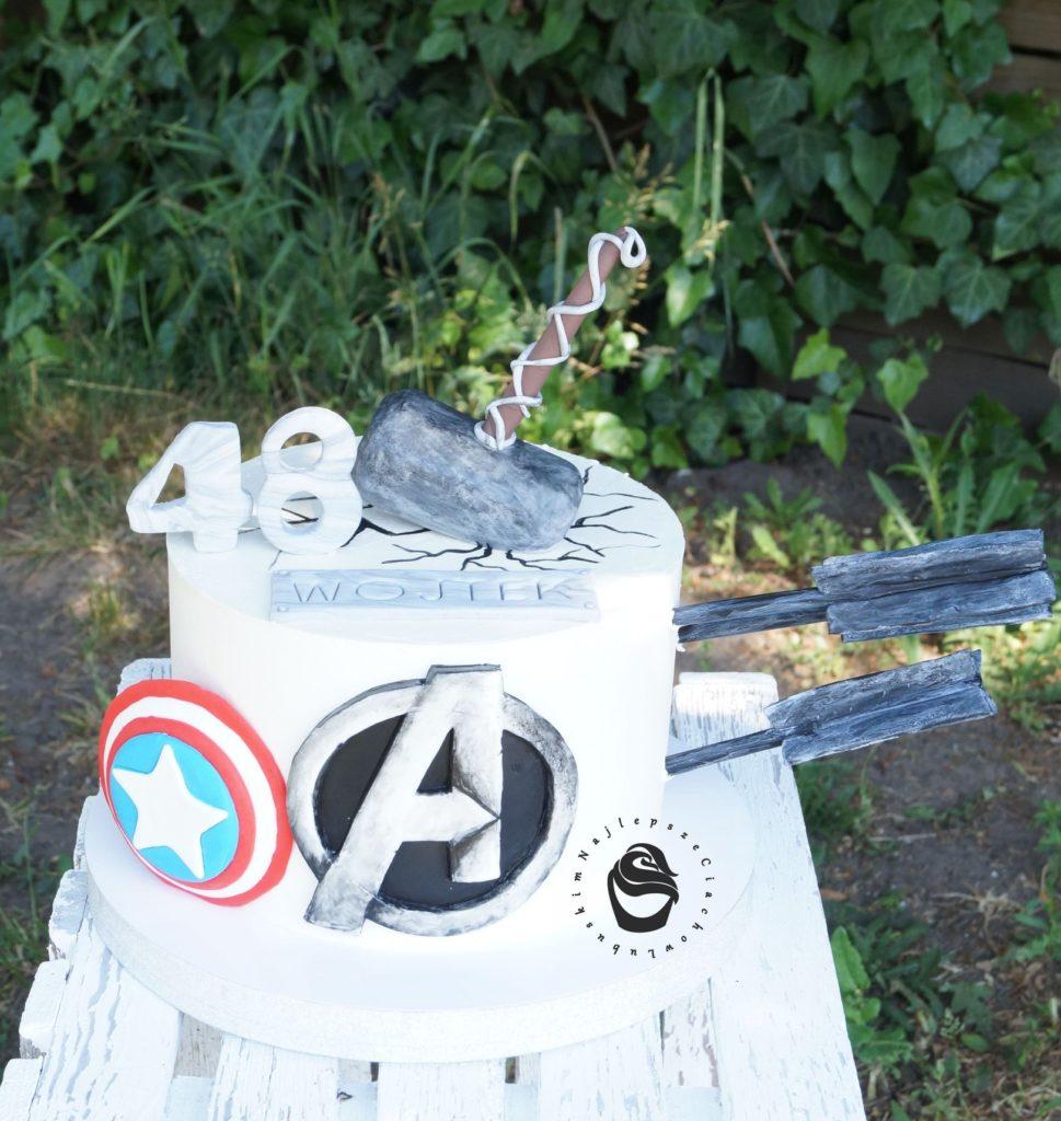 tort Marvel, Avengers na zamówienie gorzów atrybuty hulk, iron man kapitan ameryka hawkeye thor