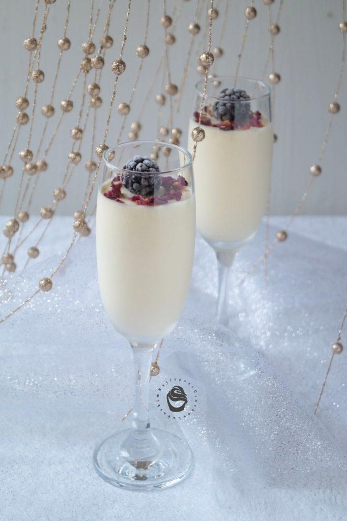 mus szampański walentynki
