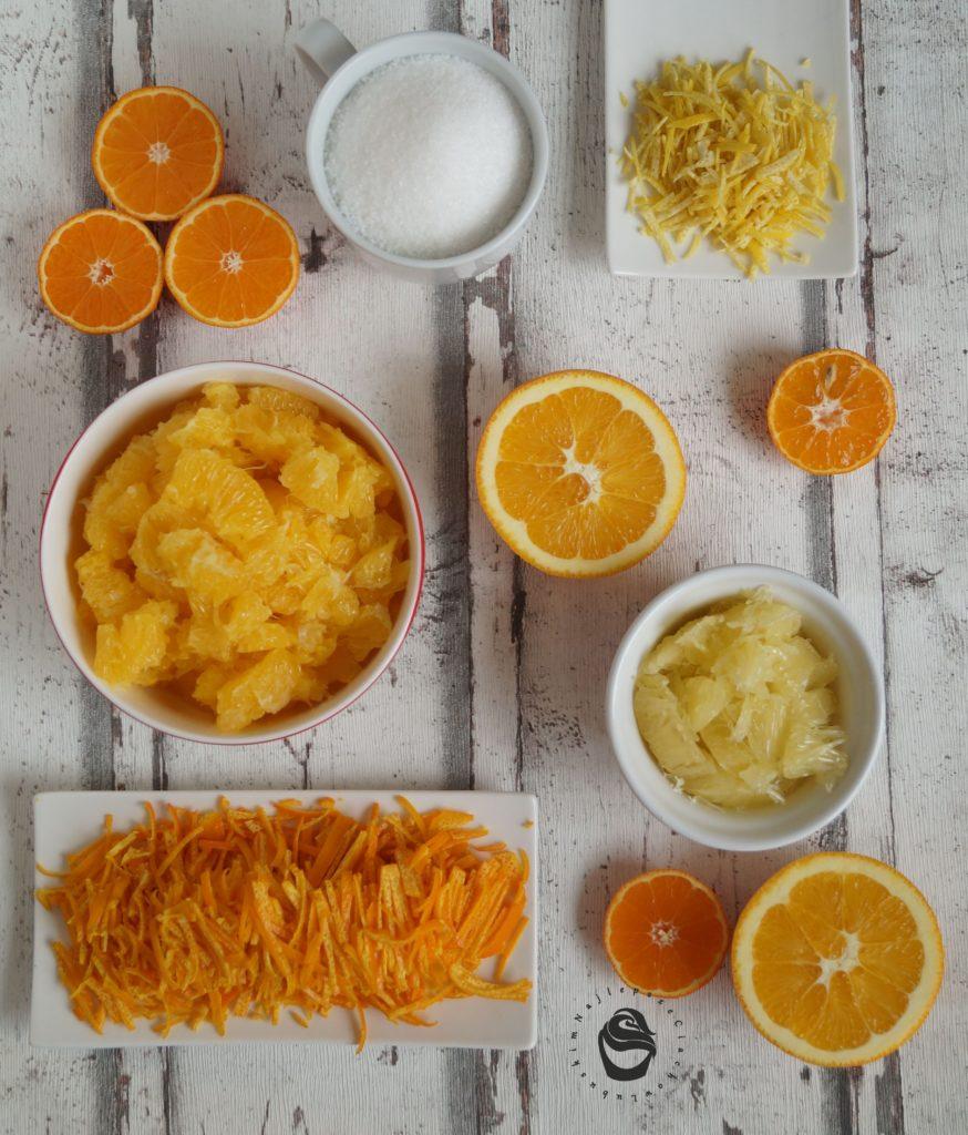 konfitura z pomarańczy święta bożego narodzenia składniki homemade własnej roboty