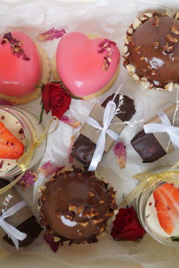walentynki box słodkości święto zakochanych na słodko