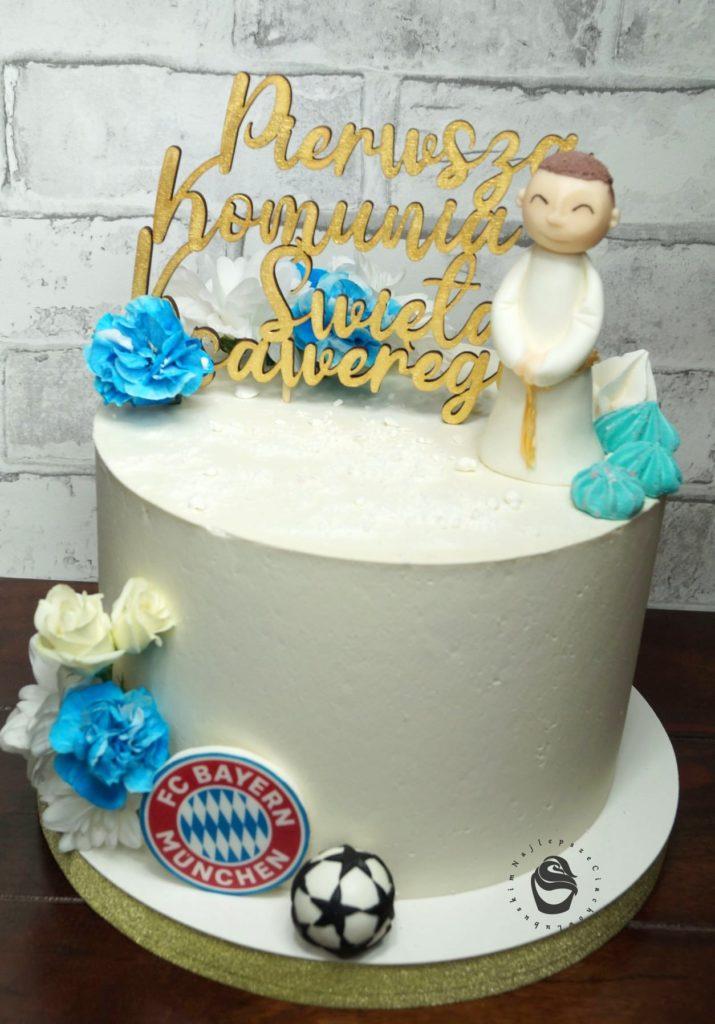 Pierwsza Komunia Święta tort dla dziecka komunijny gorzów wielkopolski