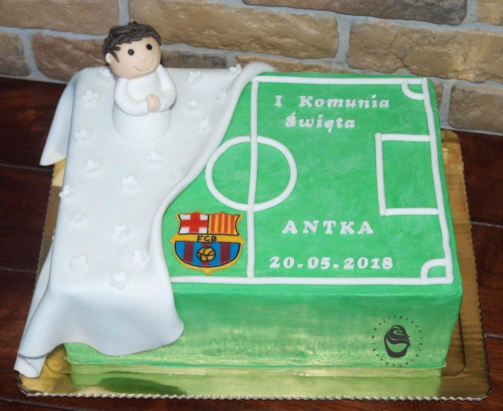 komunia święta tort dla chłopca gorzów wielkopolski